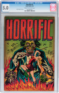 Golden Age (1938-1955):Horror, Horrific #1 (Comic Media, 1952) CGC VG/FN 5.0 Cream to off-whitepages....