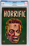 Golden Age (1938-1955):Horror, Horrific #3 (Comic Media, 1953) CGC GD/VG 3.0 Cream to off-whitepages....