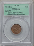 1909-S 1C MS62 Brown PCGS....(PCGS# 2238)