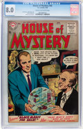Golden Age (1938-1955):Science Fiction, House of Mystery #46 (DC, 1956) CGC VF 8.0 Cream to off-whitepages....