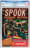 Golden Age (1938-1955):Horror, Spook #24 (Star Publications, 1953) CGC FN/VF 7.0 Cream tooff-white pages....