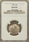 Standing Liberty Quarters: , 1928 25C MS64 Full Head NGC. NGC Census: (85/76). PCGS Population(126/121). Mintage: 6,336,000. Numismedia Wsl. Price for ...