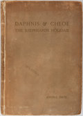 Books:Literature Pre-1900, Angell Daye. Daphnis & Chloe: The Shepheards Holidaie.London: David Nutt, 1890. Limited to sixty numbered copies ...