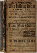 Books:Americana & American History, [Illinois]. Illinois State Gazetteer and Business Directory 1880. Volume II. R. L. Polk, 1880. 1618 pages in p...
