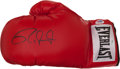 Boxing Collectibles:Autographs, Roy Jones Jr. Signed Boxing Glove....