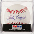 Baseball Collectibles:Balls, Sandy Koufax Single Signed Baseball, PSA Mint 9....