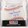 Baseball Collectibles:Balls, Jim Bunning Single Signed, Inscribed Baseball, PSA Mint+ 9.5. ...