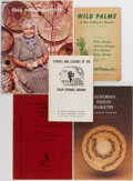 Books:Americana & American History, [Native Americans, Palm Springs]. Group of Five. Variouspublishers. Pamphlet form and original wrappers. Focuses on theP... (Total: 5 Items)