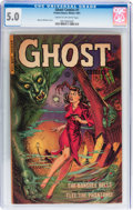 Golden Age (1938-1955):Horror, Ghost #1 (Fiction House, 1951) CGC VG/FN 5.0 Cream to off-whitepages....