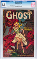 Golden Age (1938-1955):Horror, Ghost #4 (Fiction House, 1952) CGC FN+ 6.5 Cream to off-whitepages....