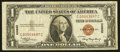 Small Size:World War II Emergency Notes, Low Number Fr. 2300 $1 1935A Hawaii Silver Certificate. Fine-Very Fine.. ...