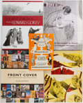Books:Art & Architecture, [Illustration]. Various authors. Group of Five. Various publishers. Features two works on Edward Gorey, a look at the Hirs... (Total: 5 Items)