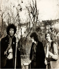 Music Memorabilia:Photos, Jimi Hendrix Experience Cashbox International Cover Photo(c. 1968)....