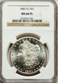 Morgan Dollars, 1883-CC $1 MS66 Prooflike NGC....