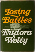 Books:Signed Editions, Eudora Welty. SIGNED/INSCRIBED. Losing Battles. New York: Random House, 1970. First edition, first printing. S...