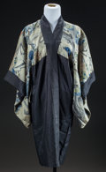 Textiles, ALINE RENOIR'S POLYCHROME SILK KIMONO. THE RENOIR COLLECTION. ... (Total: 2 Items)