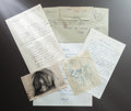 "Other:European, CORRESPONDENCE TO AND FROM CLAUDE ""COCO"" RENOIR. THE RENOIRCOLLECTION. ... (Total: 30 Items)"