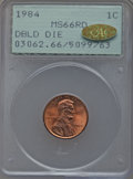 1984 1C Doubled Die Obverse MS66 Red PCGS. Gold CAC. PCGS Population (431/176). NGC Census: (113/168). Mintage: 8,151,07...