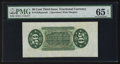 Fractional Currency:Third Issue, Top Pop Fr. 1358SP 50¢ Third Issue Justice Wide Margin Back PMG Gem Uncirculated 65 EPQ.. ...