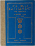 Books:Americana & American History, Violet Oakley. SIGNED/LIMITED. The Holy Experiment: Our Heritagefrom William Penn. Pennsylvania: Cogslea Studio Pub...