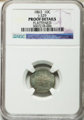 Patterns, 1863 10C Ten Cents, Judd-329, Pollock-399, Low R.6, -- Flattened -- NGC Details. Proof. NGC Census: (0/4). PCGS Population ...