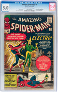 Silver Age (1956-1969):Superhero, The Amazing Spider-Man #9 (Marvel, 1964) CGC VG/FN 5.0 Off-white to white pages....