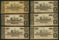 Confederate Notes:1864 Issues, T67 $20 1864. Fourteen Examples.. ... (Total: 14 notes)