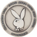 Music Memorabilia:Awards, George Harrison Playboy All-Star Jazz and Pop Poll Award,1972....