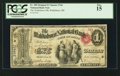 National Bank Notes:Maine, Waldoboro, ME - $1 Original Fr. 380 The Waldoboro NB Ch. # 744. ...