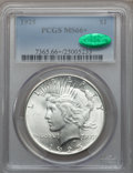 Peace Dollars, 1925 $1 MS66+ PCGS. CAC....