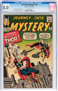 Journey Into Mystery #95 (Marvel, 1963) CGC VF 8.0 Cream to off-white pages