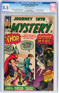 Silver Age (1956-1969):Superhero, Journey Into Mystery #99 (Marvel, 1963) CGC VF+ 8.5 Cream to off-white pages....