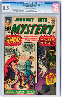 Journey Into Mystery #99 (Marvel, 1963) CGC VF+ 8.5 Cream to off-white pages