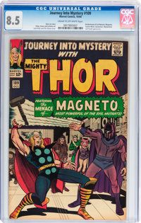 Journey Into Mystery #109 (Marvel, 1964) CGC VF+ 8.5 Cream to off-white pages