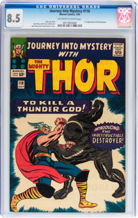 Journey Into Mystery #118 (Marvel, 1965) CGC VF+ 8.5 Off-white to white pages