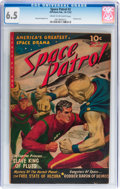 Golden Age (1938-1955):Science Fiction, Space Patrol #2 (Ziff-Davis, 1952) CGC FN+ 6.5 Cream to off-whitepages....