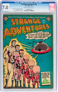 Golden Age (1938-1955):Science Fiction, Strange Adventures #40 (DC, 1954) CGC FN/VF 7.0 Cream to off-whitepages....