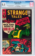 Silver Age (1956-1969):Superhero, Strange Tales #135 (Marvel, 1965) CGC VF+ 8.5 Off-white to white pages....