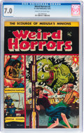 Golden Age (1938-1955):Horror, Weird Horrors #5 (St. John, 1952) CGC FN/VF 7.0 Cream to off-whitepages....