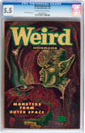 Golden Age (1938-1955):Horror, Weird Horrors #6 (St. John, 1953) CGC FN- 5.5 Cream to off-whitepages....