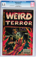 Golden Age (1938-1955):Horror, Weird Terror #7 (Comic Media, 1953) CGC FN- 5.5 Cream to off-whitepages....