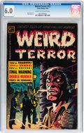 Golden Age (1938-1955):Horror, Weird Terror #13 (Comic Media, 1954) CGC FN 6.0 Cream to off-whitepages....