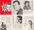 Music Memorabilia:Autographs and Signed Items, The Dick Clark Show Signed 1962 Concert Tour Program. ...