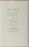 Books:Biography & Memoir, John Steinbeck. LIMITED. Letters to Elizabeth: A Selection of Letters from John Steinbeck to Elizabeth Otis. San Fra...