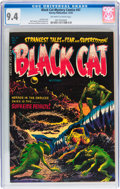 Golden Age (1938-1955):Horror, Black Cat Mystery #47 (Harvey, 1953) CGC NM 9.4 Off-white to whitepages....