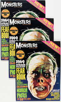 Famous Monsters of Filmland Yearbook 1969 Group (Warren, 1969) Condition: Average VF+.... (Total: 7 Comic Books)