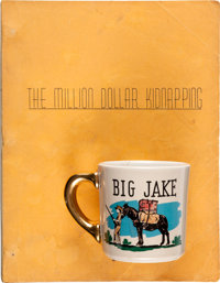 "A Script and Coffee Mug from ""Big Jake."""