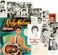Music Memorabilia:Autographs and Signed Items, Ricky Nelson Rickenbacker In-Store Standee Circa 1961 and SignedPhoto and Vintage Memorabilia (1959-79).... (Total: 20 Items)