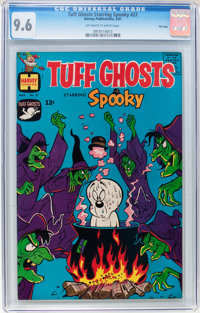 Tuff Ghosts Starring Spooky #27 File Copy (Harvey, 1967) CGC NM+ 9.6 Off-white to white pages