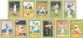 Baseball Collectibles:Others, 1980's-90's Great Moments Signed Perez Steele Cards Lot of 64 Plus44 Unsigned....